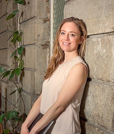 Porträt Texterin Valerie Trüb, textbutik